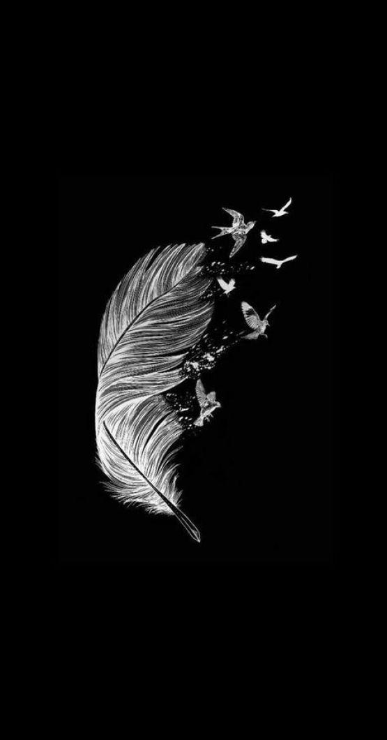 pena tumblr  preto e branco