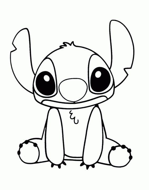 desenho fácil do stitch