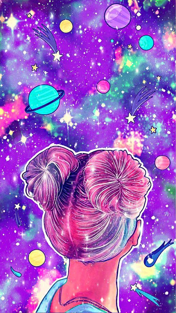 imagem de celular colorido