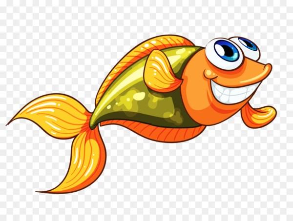 Peixe alegre e bem divertido para desenhar.
