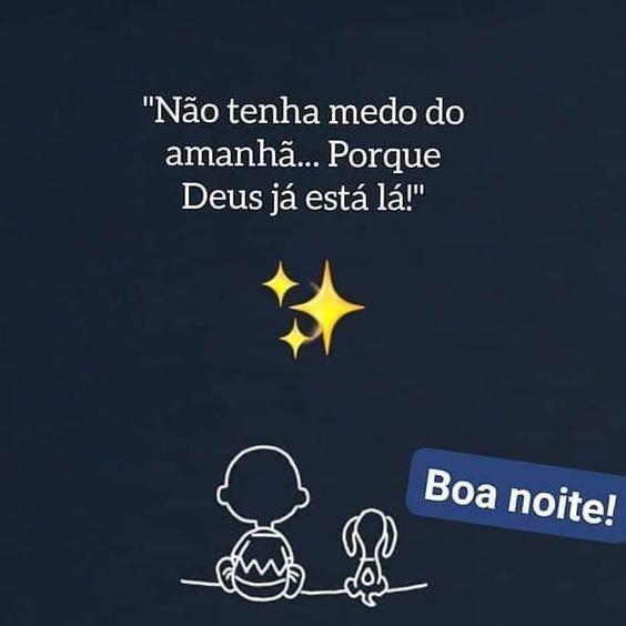 boa noite Deus no amanhã