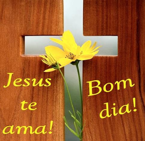 frase de bom dia Jesus amor