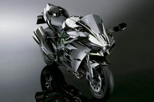 moto H2R prata linda