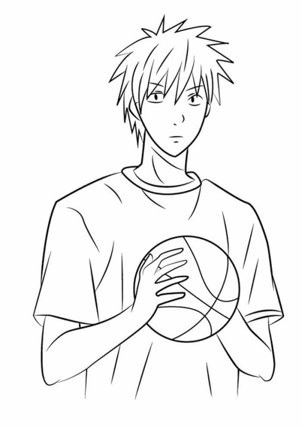Desenho para colorir anime tumblr.