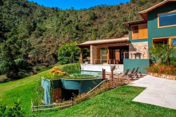 magnifica  casa no campo