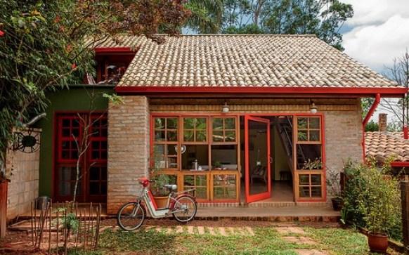 casa no campo moderna