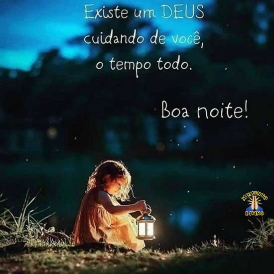 Imagens de boa noite com Deus para seu coração.