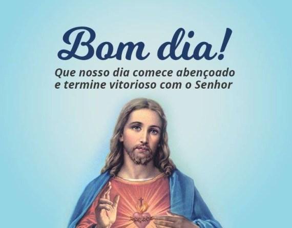 bom dia com Jesus salvador