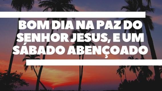 paz bom dia com jesus