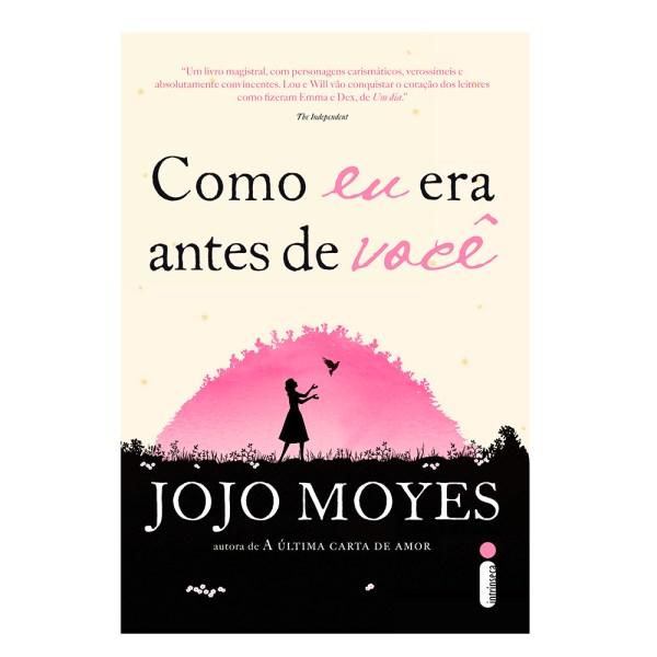"""Livro romântico """"Como eu era antes de você."""""""