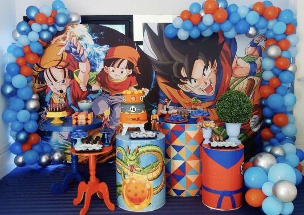 Decoração tema Dragon ball z
