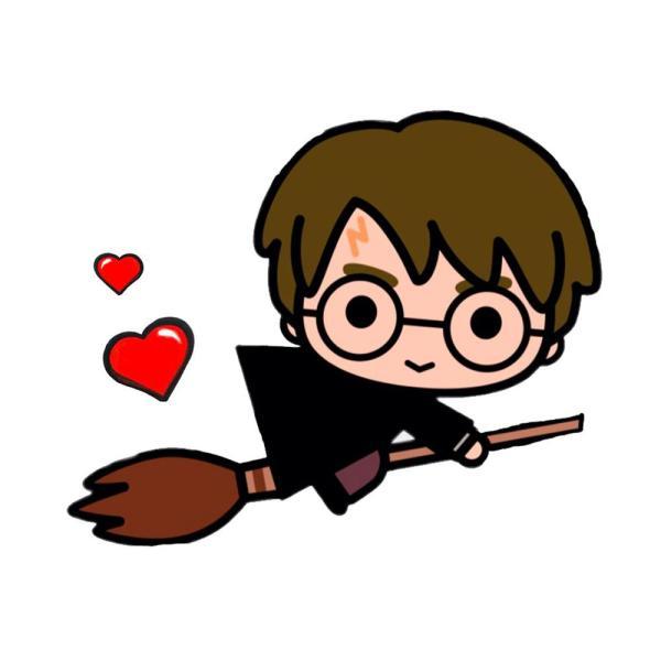 Desenho para desenhar Harry Potter.