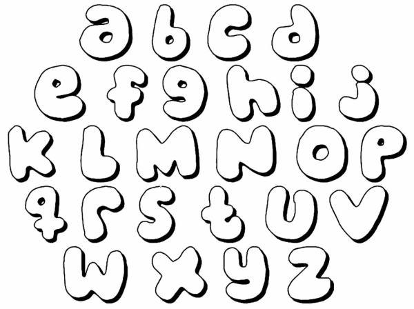 Alfabeto educativo para colorir