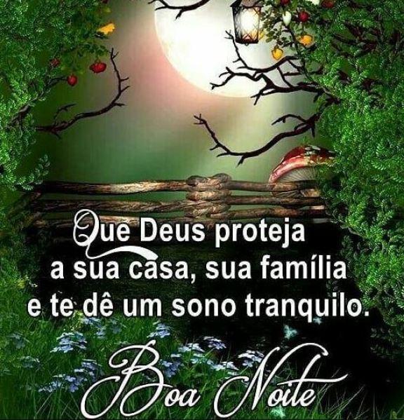 Frases de boa noite com Deus