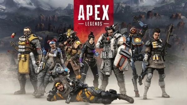 Apex legenda jogo popular.