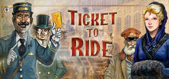 Venha jogar Ticket to ride.