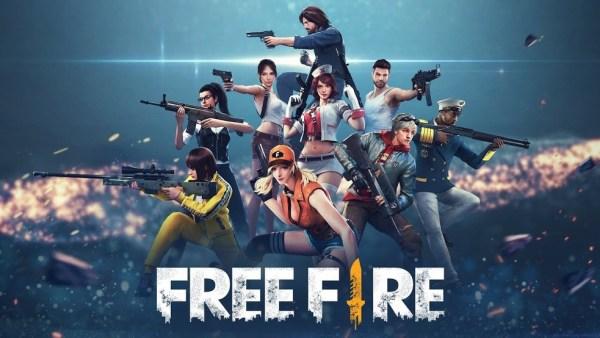 Free fire jogo muito jogado por jovens.