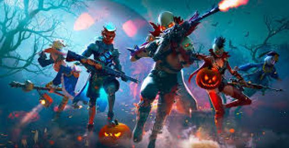free fire em hallowen