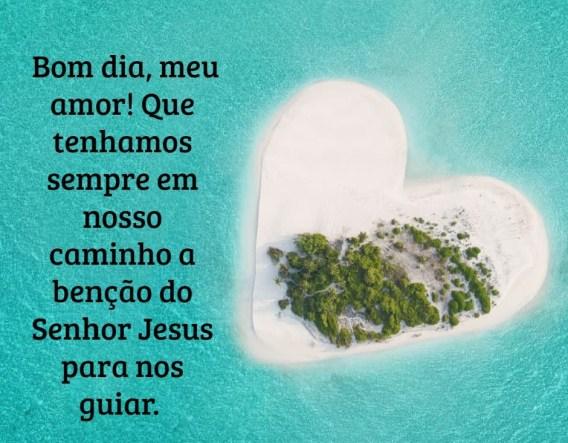 bom dia com Jesus amoroso