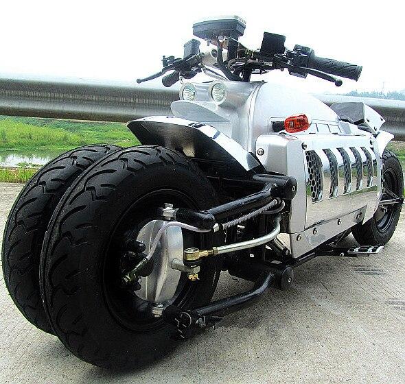 moto Tomahawk do futuro