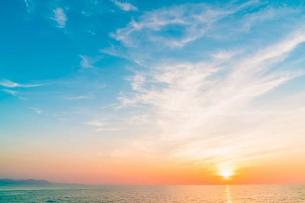 Linda paisagem do céu