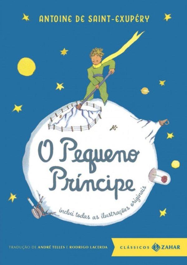O pequeno príncipe livro perfeito para crianças.