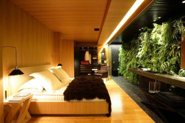 Lindas fotos de quarto com jardim.