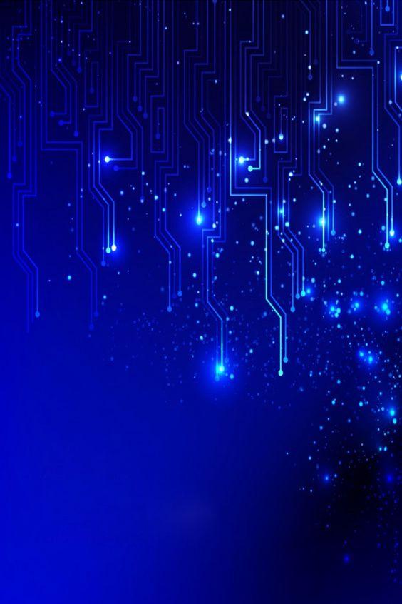 Papel de parede azul digital