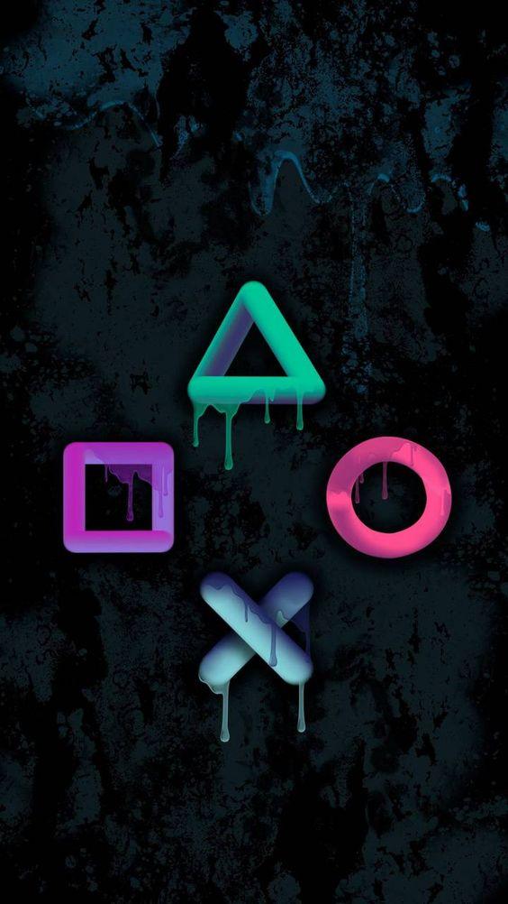 Papel de parede símbolos gamer