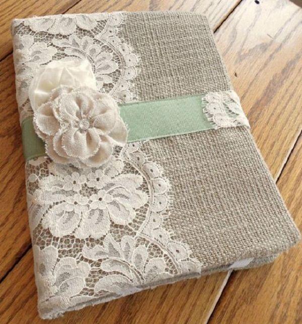 artesanato capa de caderno