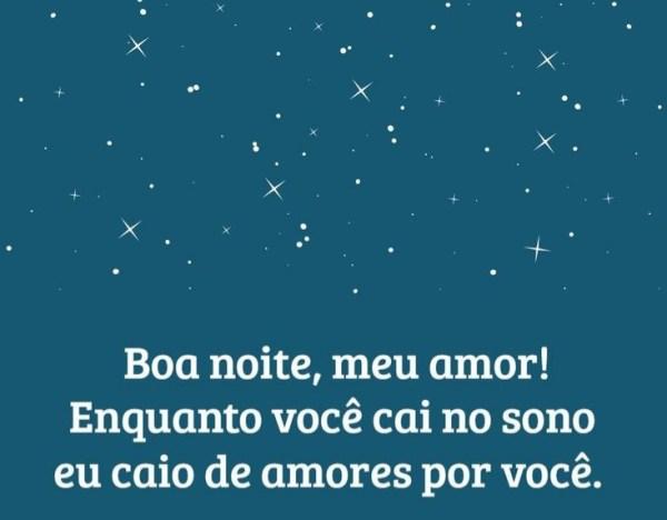 bela boa noite romântica