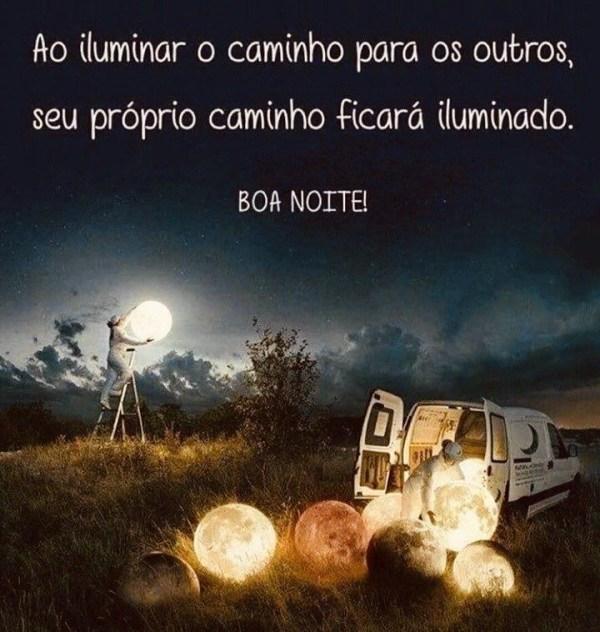 ilumina Boa Noite reflexiva