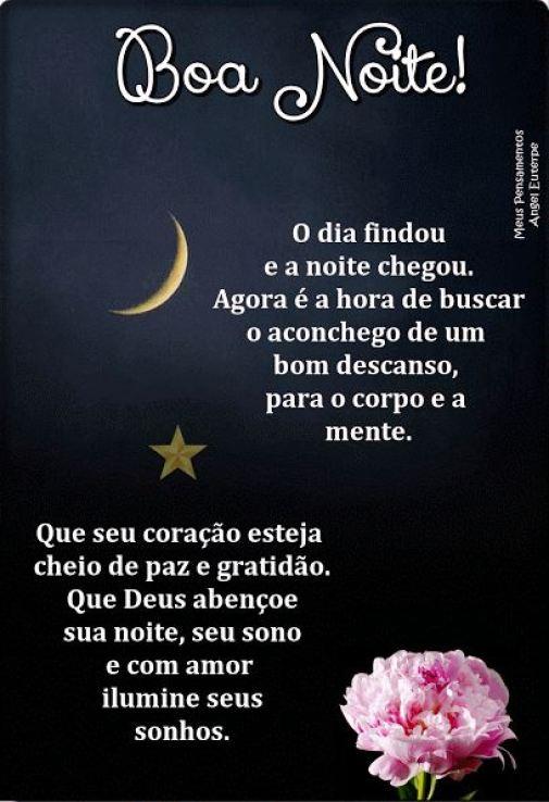 Boa noite linda