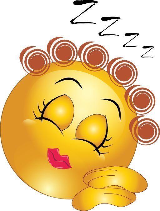 emoji de boa noite roncando