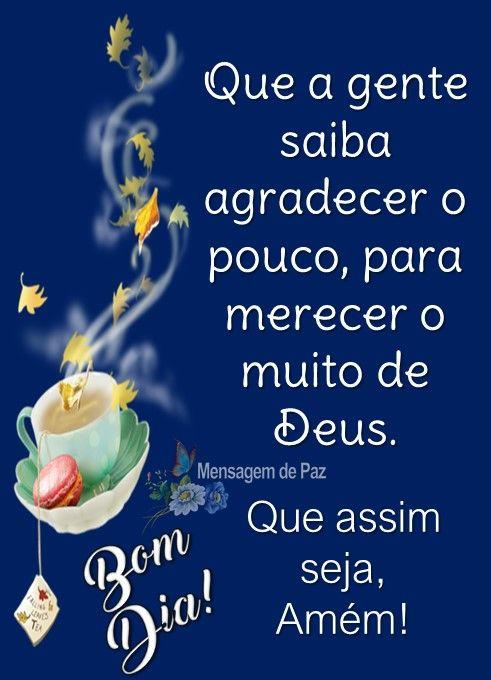 Bom dia com Deus no coração