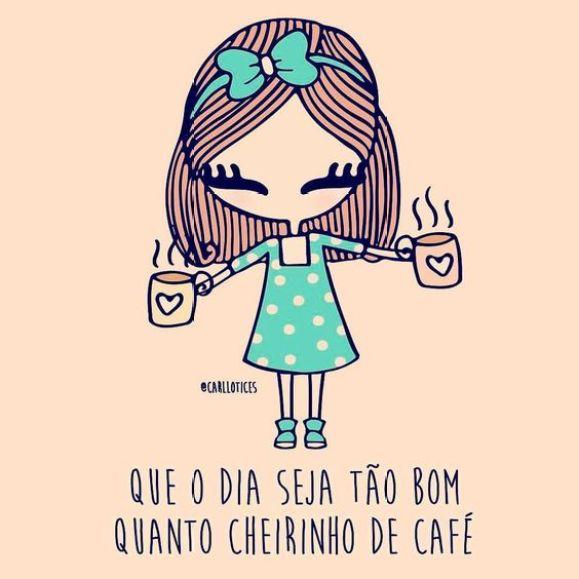 lindo dia só começa depois do café