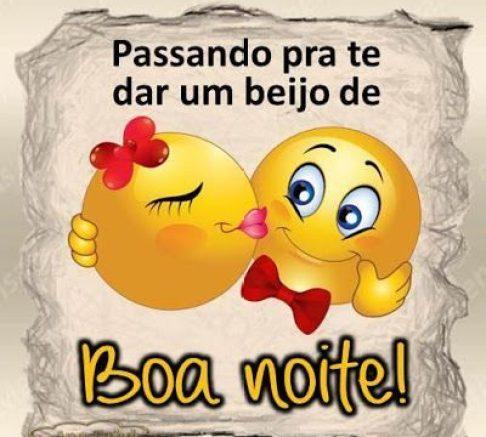 beijo de boa noite emoji