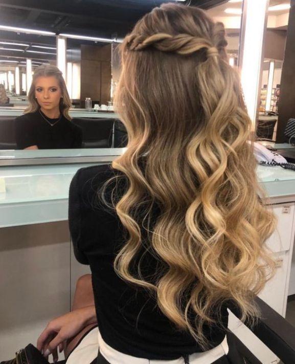 Imagens de modelos simples de penteados