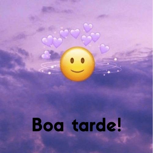 Emojis  rindo de Boa tarde