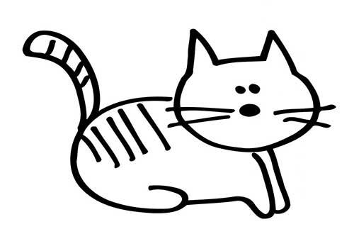 Desenhar gato fácil
