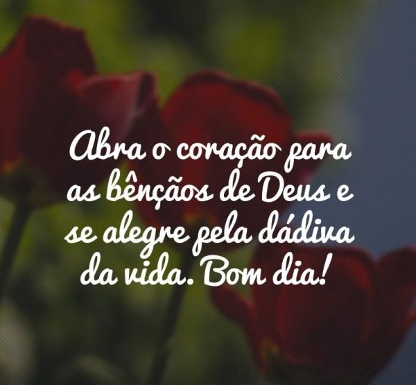 bom dia com Deus  belo