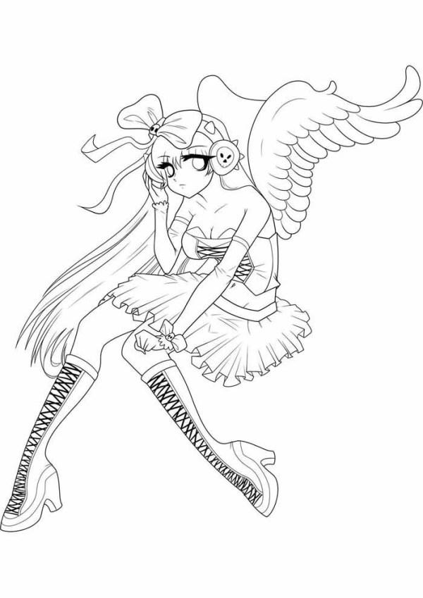 imagens de anime anjinha