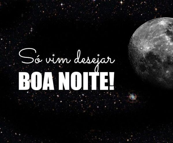 Boa noite Abençoada! Imagens Gifs e mensagens  lua bela
