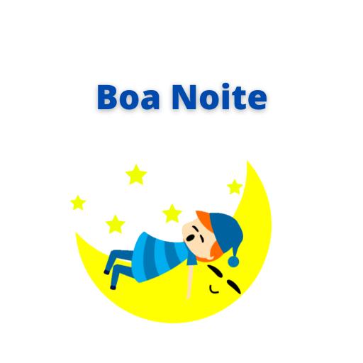 Figurinha de estrela de boa noite