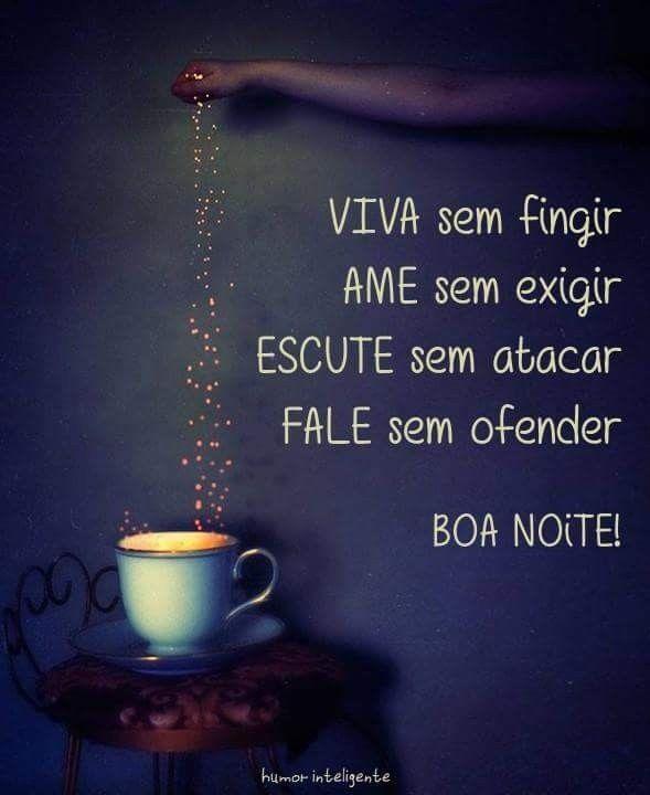 boa noite com café lindo