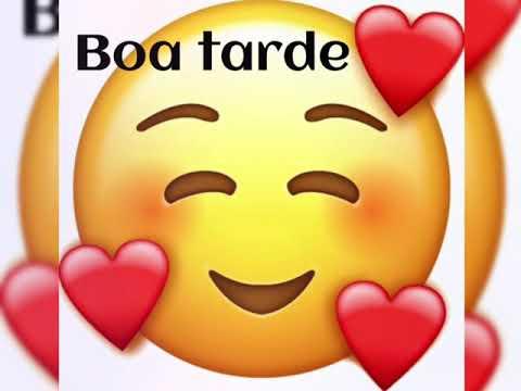 amoroso Emojis de Boa tarde
