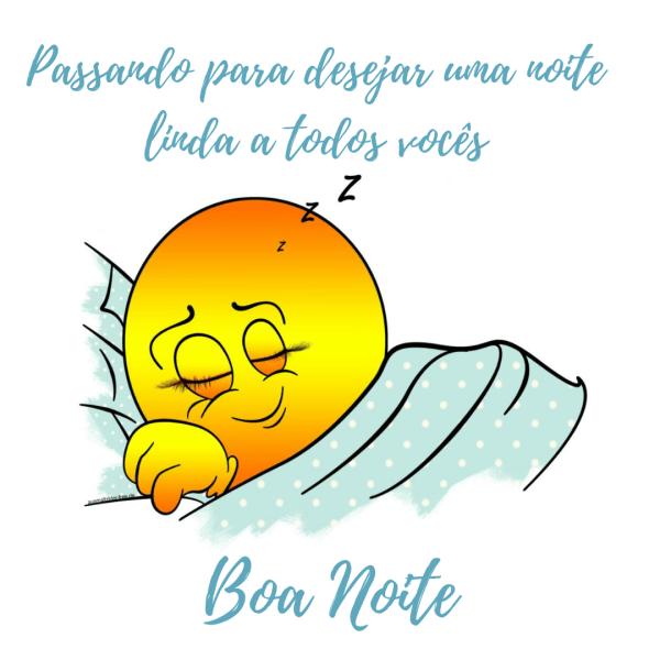 Lindos emojis de boa noite com frases