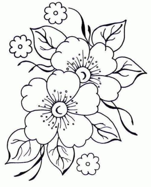 desenho de flores melhorzinha