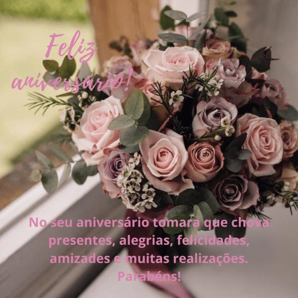 Lindas flores par desejar parabéns