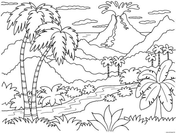 paisagem da natureza havai
